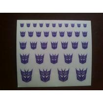Logo Decepticon Sin Fondo Transformers Reprolable