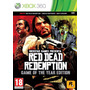 Red Dead Redemption Goty Xbox 360 Ntsc Nuevo Sellado
