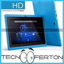 Tablet 7 Pulg Android 4gb Doble Camara Full Aplicaciones