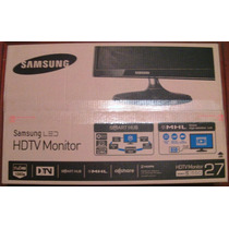 Televisor + Monitor Samsung 27 Led Lt27b550lb Hdmi Vga Usb