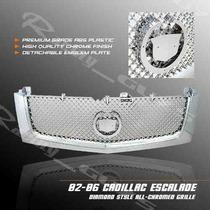 Parrilla Cromada Cadillac Escalade 02 03 04 05 06 De Lujo