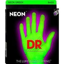 Cuerdas Fluorescentes Para Bajo De 4 Dr Strings Ngb45 45-105