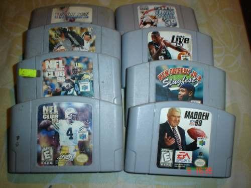 Nintendo 64 Paquete De 10 Juegos De Deportes N64 1 050 00 En