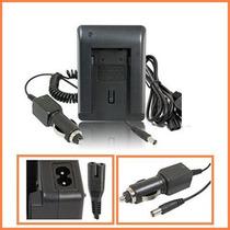 Cargador Smart Led Sb-l160 P/ Video Camara Samsung Sc-l610