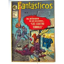 Historieta, Los 4 Fantasticos N°57, Editorial La Prensa Css