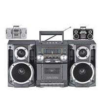 Mini Componente Hi-fi Reproductor Y Grabador De Cassette Usb