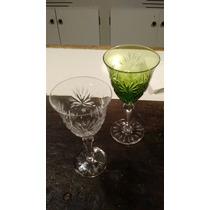 Copas De Cristal Talladastransparentes