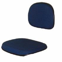Assento E Encosto Colorido Para Cadeira Secretária Reto