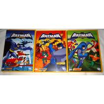 Batman El Valiente, Paquete Serie Amnimada De Tv En Dvd