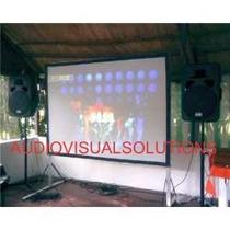 Pantalla Estructural D Videoproyeccion Trasera-delantera 3x3