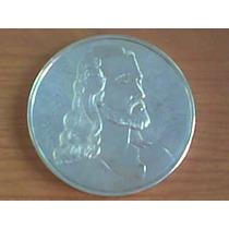 Preciosa Medalla De Plata Imagen De Jesus Y Ultima Cena 5 Oz