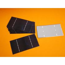 Celda Solar Policristalina 7.5cm X 15cm, I.8w, 0.5v, 3.6a