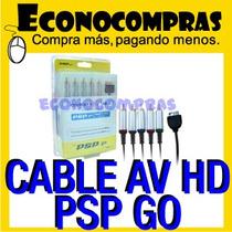 Cable Componente Para Sony Psp Go Av - Hd 100% Nuevo!!!!!!!!