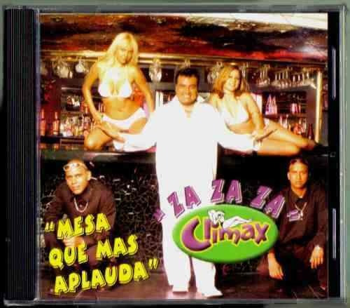 climax za za za mesa que mas aplauda cd nuevo sellado 1a