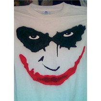 Playera Guason (joker) Aerografia Batman