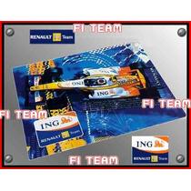 Almoadilla Para Raton Del Renault Ing F1 Team Mousepad