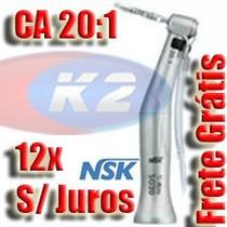 Contra Angulo Implante Nsk Redutor Smax Sg20 - 20:1 + Brinde