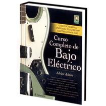 Curso Completo De Bajo Eléctrico 1 Vol + 1 Cd Audio Parramon