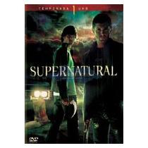 Supernatural Primera Temporada Dvd Nuevo Excelente Estado