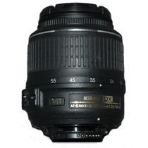 Lente Profesional Nikon 18-55mm F/3.5-5.6g Af-s Dx Vr Op4