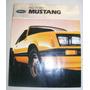 Catalogo De Venta De Ford Mustang 1982 Nuevo Original
