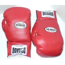 Guantes De Box Marca Reyes Delgado 14 Y 16 Oz.