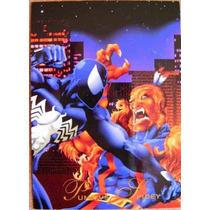 Spider Man Vs Puma / Marvel Comics Pepsi Cards 34 / Tarjeta
