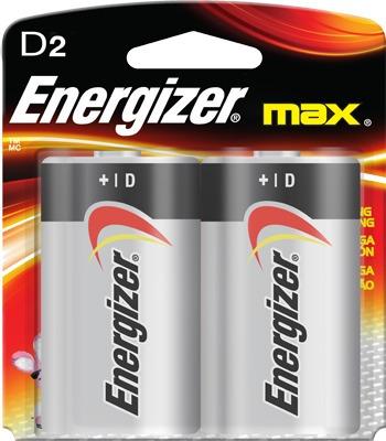 Pila energizer tama o d con 2 pilas alkalina en for Tamanos de pilas