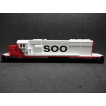 Llm-6604 Soo L. Carroceria Locomotora Sd-40-2 Athearn Ho-