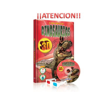 El Gran Libro De Los Dinosaurios En 3d Cd + Lentes