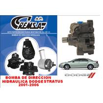Bomba De Direccion Hidraulica Stratus 2001