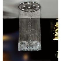 Lampara Para Techo - Elegante Diseño Con Esferas De Cristal