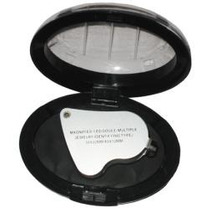 Lote De 6pz Lupa Doble Joyero Luz De Led 30x-25mm 60x-12mm