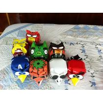 Angry Birds Figuras Tazos Coleccionables Sabritas
