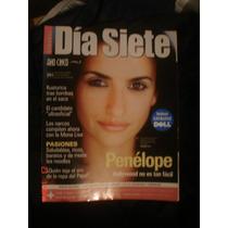 Revista Dia Siete Penélope Cruz