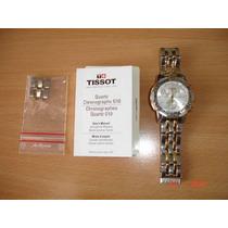 Original Reloj Suizo Tissot Prs200 Oro/plata
