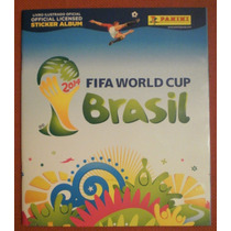 Álbum Capa Dura Copa Do Mundo 2014 - Completo - Para Colar