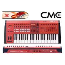 Cme Teclado Controlador Midi 49 Teclas Vx50 Usb Bivolt