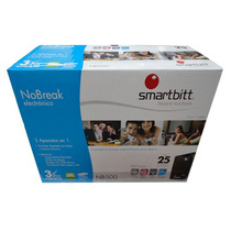 No-break Smartbitt 500, 500va/250w,4 Cont; Regulador,3 Años