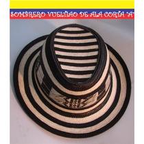 Sombrero Vueltiao De Ala Corta. Bfn.