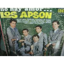 Apson No Hay Amor Lp Vinyl