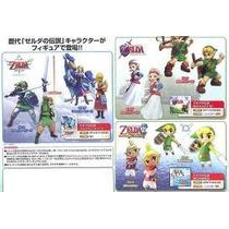 Zelda Phantom Hourglass Ocarina Del Tiempo Figuras Gashapon