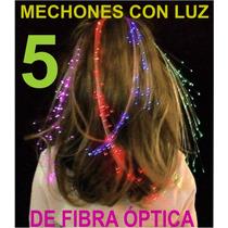 Cabello Luminoso Extensiones Con Luz Fiesta Eventos Mechones