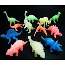 Juguete Miniatura Para Maquina Chiclera, Dino Fosforescente.