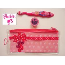 Si Envio Set Nina Cepillo De Dientes Barbie Bolsita Cubierta