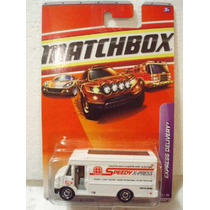 Matchbox Camioneta Van Mensajeria Express Delivery 60/75