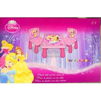 Princesas De Disney Juego De Mesa Con Sillas