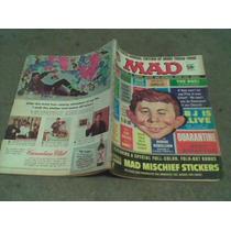 Mad En Ingles Con Stikers Año 1967