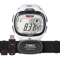 Relógio Monitor Cardíaco Usb E Software T5k490f7 Timex