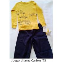 Conjuntos Para Niño Carters (combo 3 Conjuntos)